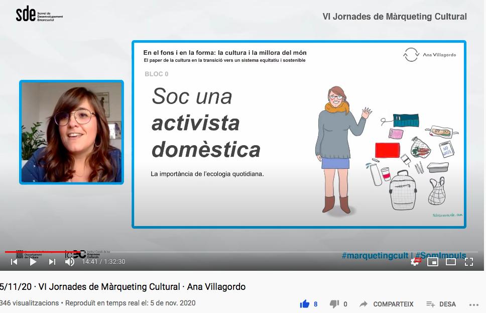 Presentació Ana Villagordo