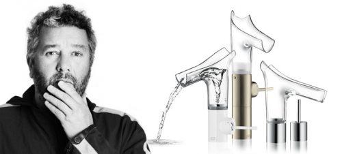 Intento de desmaterialitzar grifos de Philippe Starck